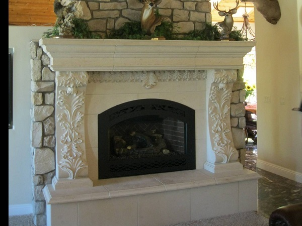 Bellagio Fireplace Mantel M-1355