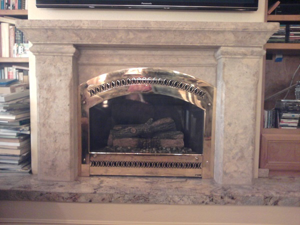 Monterey Fireplace Mantel M-1300