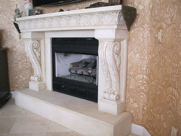 Palisades Fireplace Mantel M-1455