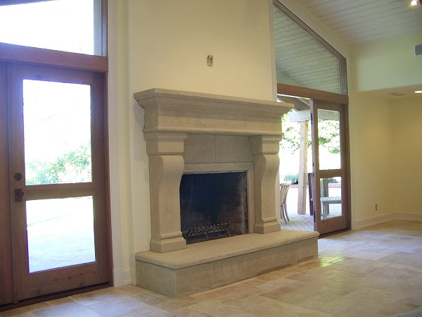 Santa Barbara Fireplace Mantel M-1155 [Santa Barbara M-1155 ...